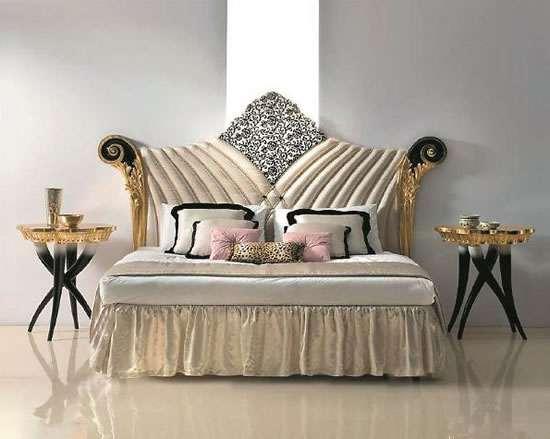 italya yatak odası dekorasyonları