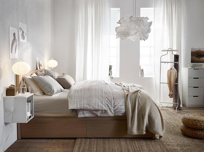 İkea Yatak Odası Dekorasyonu