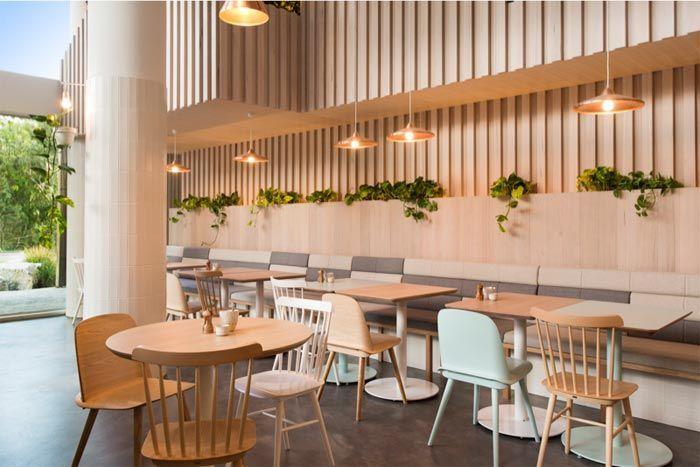 iki Kişilik Alanları ile Restoran Tasarımı