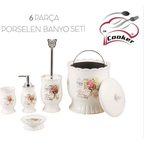 Cooker Porselen Banyo Seti