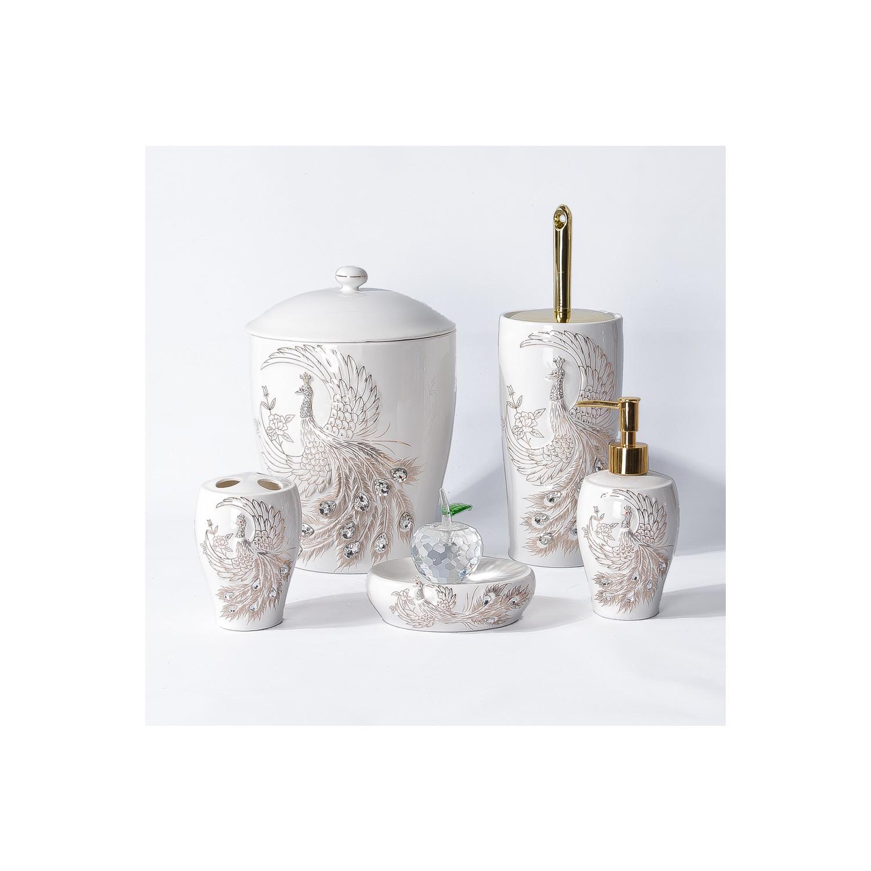 Lüks Porselen Banyo Seti