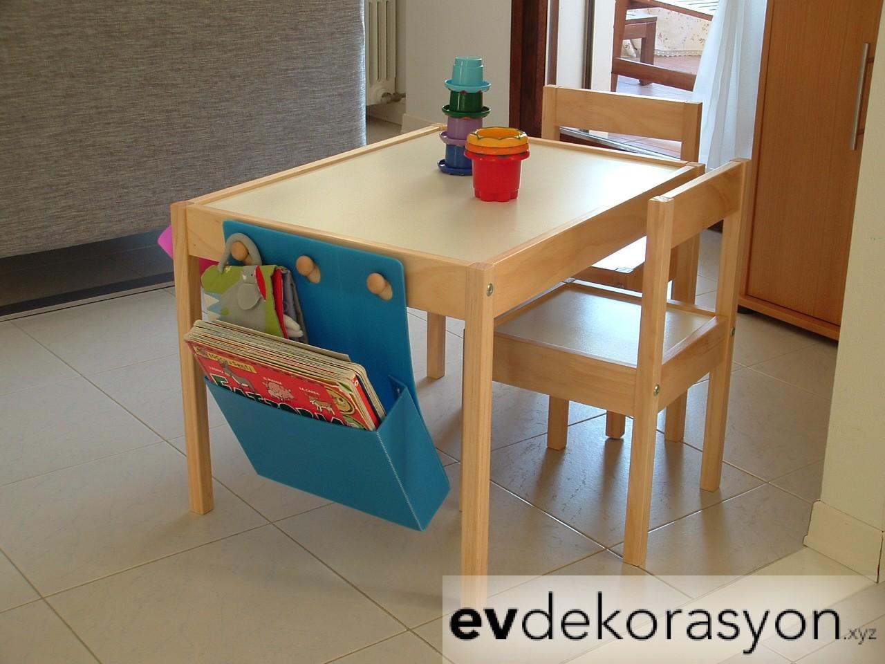 İKEA Çocuk Masa Sandalye Modelleri