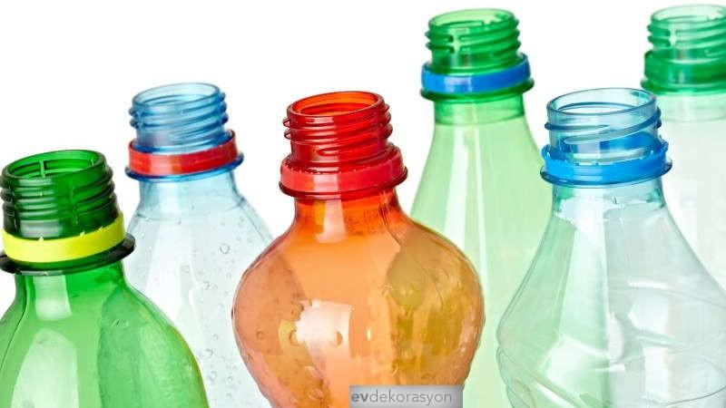 Renkli Plastik Şişelerden Takı Kutusu Yapmak