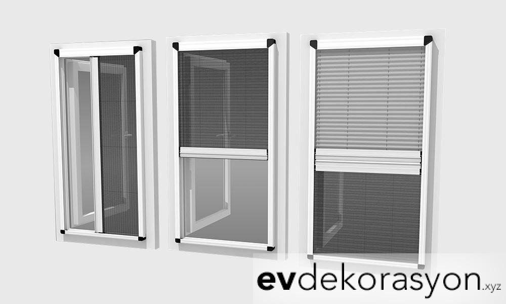 Sürgülü Pencere Sineklik Modelleri