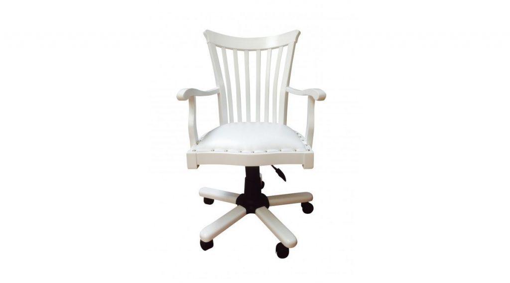 Venetto Beyaz Çalışma Sandalyesi