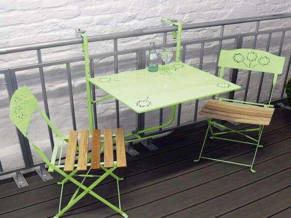küçük metal balkon masası modelleri