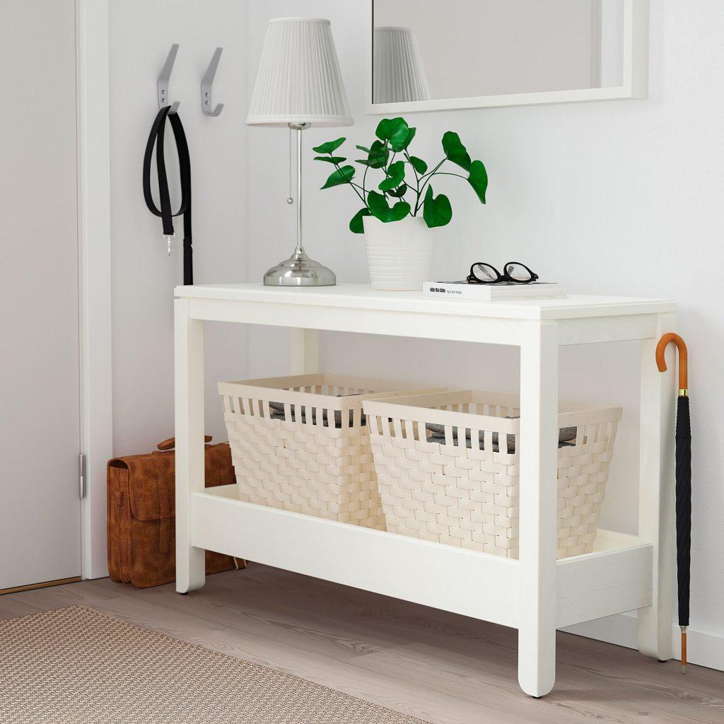 IKEA Konsol Sehpa Beyaz