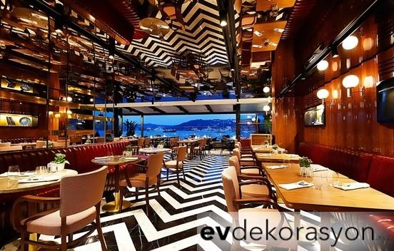 Modern Tasarıma Sahip Lüks Restoran Örnekleri