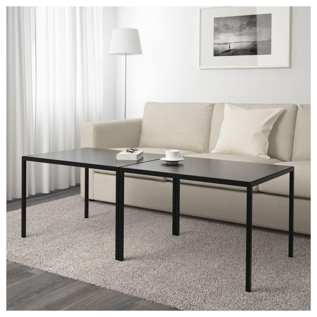 IKEA NYBODA Siyah Birleşik iki tarafli orta sehpa