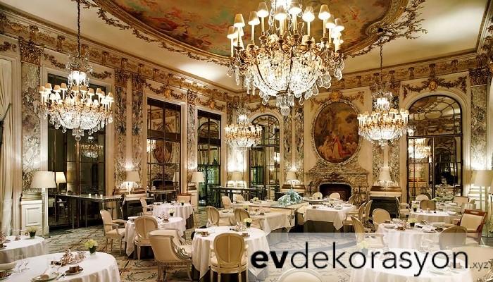 Pahalı Restorant Tasarımı Örneği