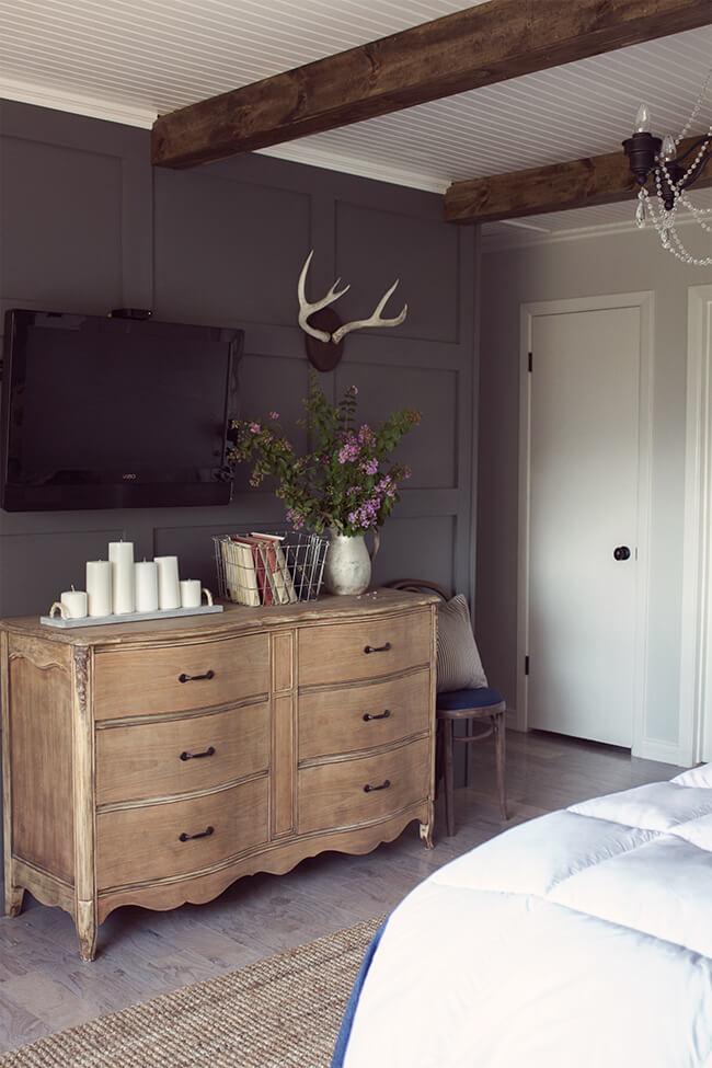 Siyah Yatak Odası Dekorasyon