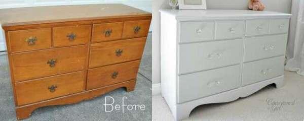 Evde mobilya nasıl boyanır