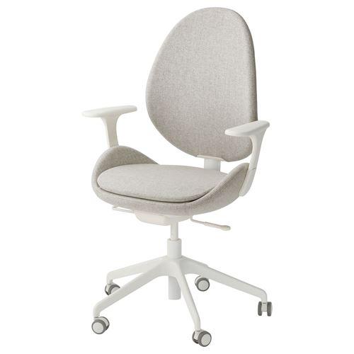HATTEFJALL kolçaklı dönen sandalye fiyatı 1.649TL