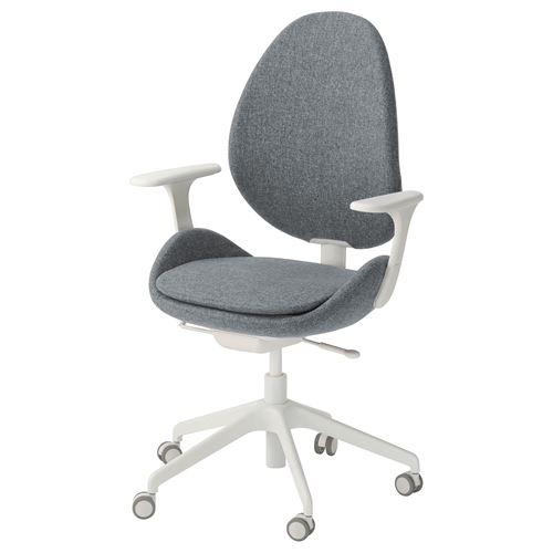 HATTEFJALL kolçaklı dönen sandalye fiyatı 1.646TL