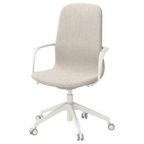 LANGFJALL kolçaklı dönen sandalye fiyatı 1.159TL