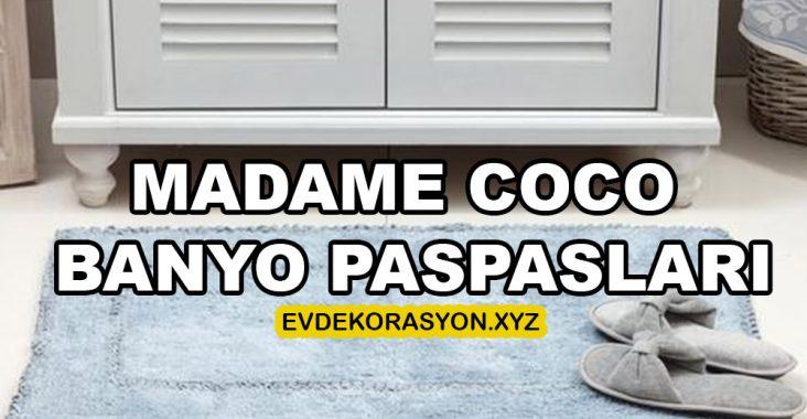 Madame Coco Banyo Paspas Modelleri