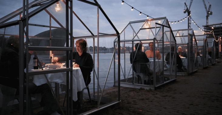 Restoranlarda Sosyal Mesafe