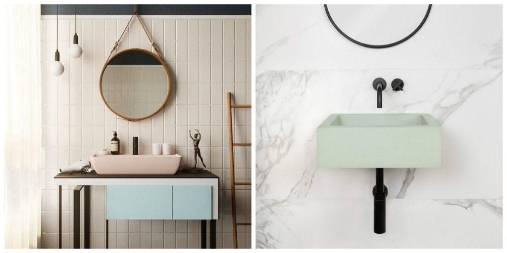 Banyo Lavabo Trendleri