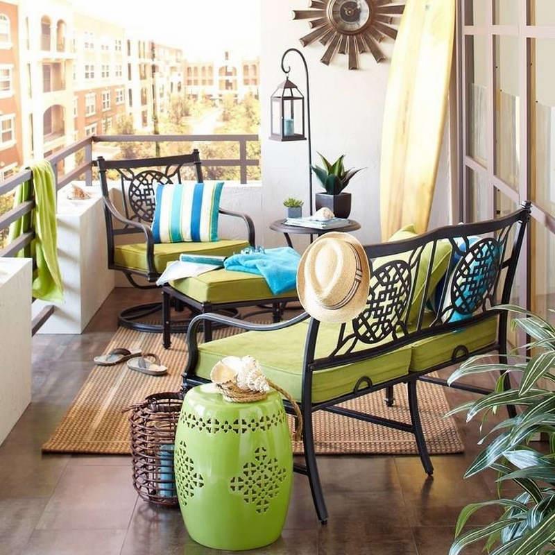 Küçük Balkon Tasarımları