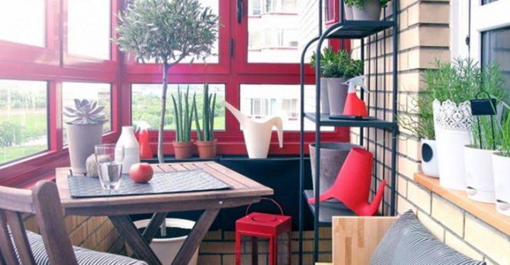 Renkli Balkonlar