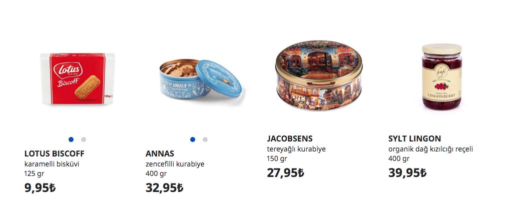 İsveç Gıda Marketi
