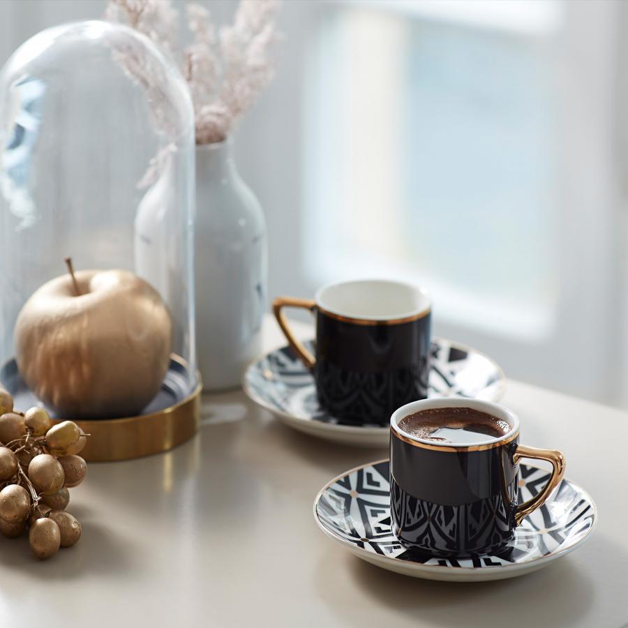 Karaca Mona 2 Kişilik Kahve Fincanı