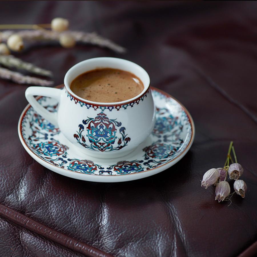 Karaca Nakkaş 2 Kişilik Kahve Fincan Seti
