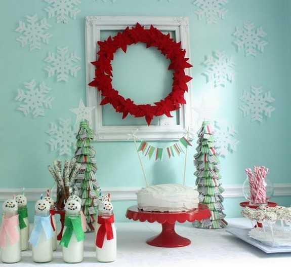 Noel Masa Dekor Fikirleri