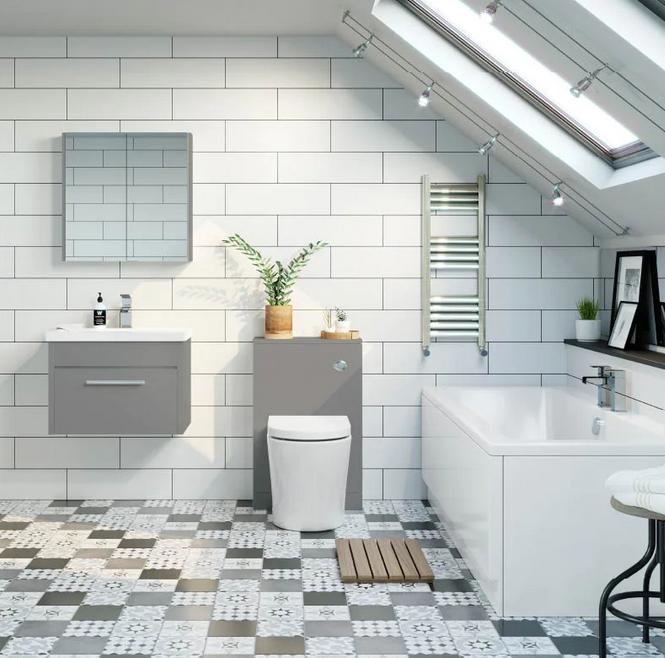 Ucuz Banyo Tasarımı Örneği