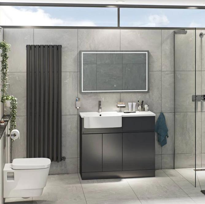 Modern tasarım banyo fikirleri