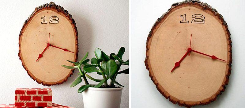 Ağaç Kütük Dekorasyon