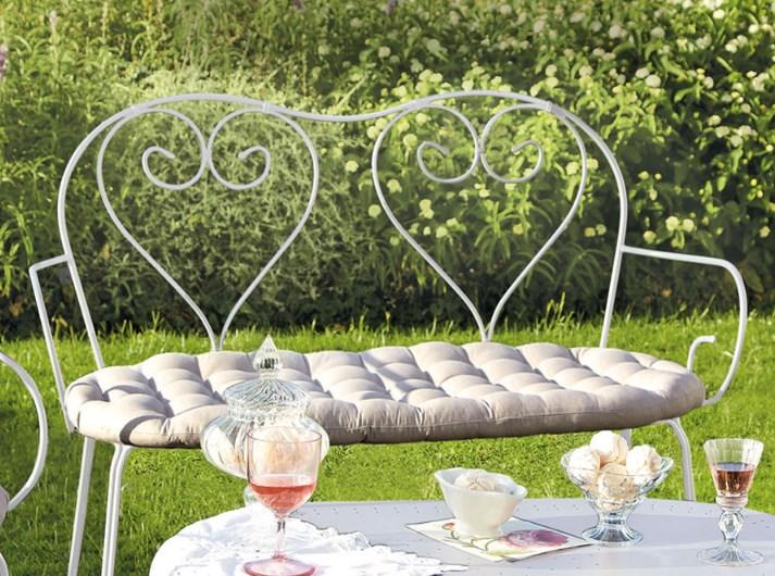 ferforje bahçe mobilyası modelleri