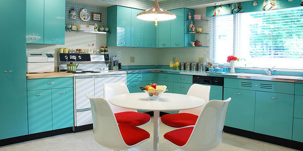 Retro Mutfak Dekorasyonu