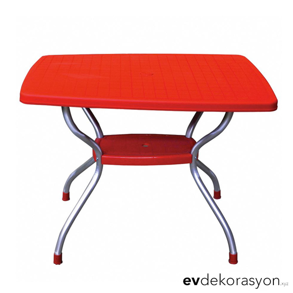 Vega Bahçe Masası Kırmızı