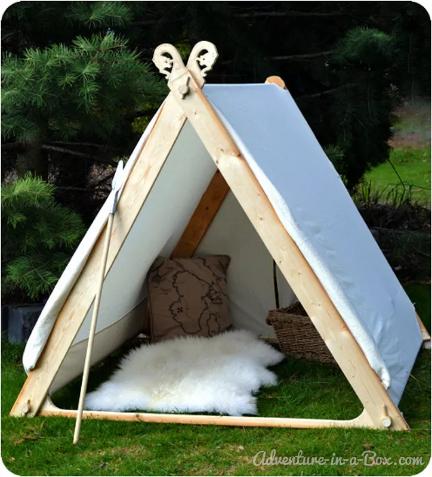 Viking Oyun Çadırı Hazırlama